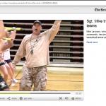Seattle Times Sgt Mike Trains SPU basketball teams