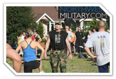 Sgt Mike Northwest Military article Veteran Sergeant Mike whips people into shape